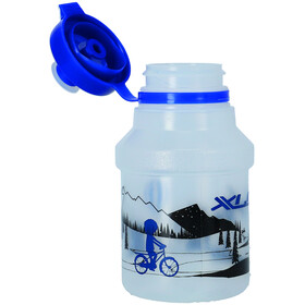 XLC WB-K14 Drinking Bottle 350ml incl. Holder Kids skyline